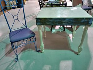 Beautiful 1940's milk glass baking table for Sale in Indianapolis, IN