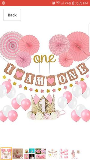 New- 1st Birthday decoration for Sale in Manassas, VA