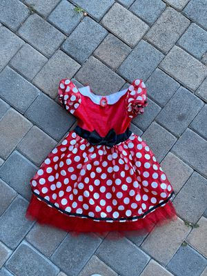 Minnie Mouse Dress Costume/ Play Dress Up for Sale in San Marcos, CA