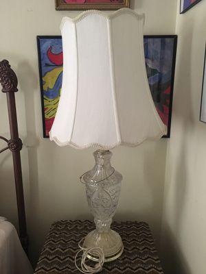 Antique glass lamp for Sale in La Habra, CA