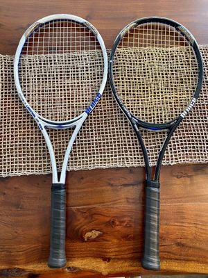 2 Prince Tennis Rackets (Unworn strings) for Sale in Fort Lauderdale, FL