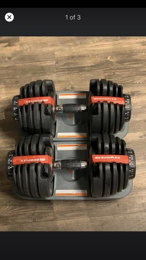 Bowflex 552 adjustable dumbbells for Sale in Golden, CO