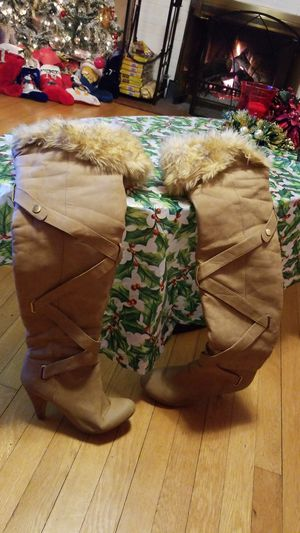 Thigh high boots for Sale in Bunker Hill, WV