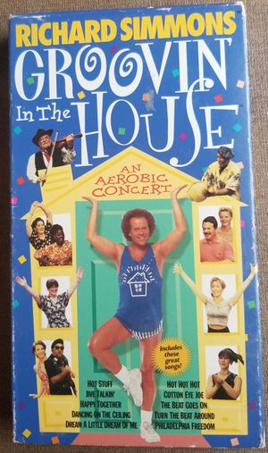 Richard Simmons Groovin in the House vhs for Sale in Three Rivers, MI