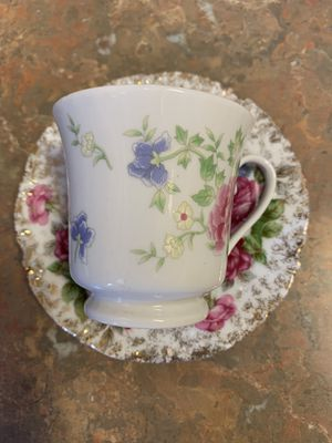 Rose Cup & Saucer Set for Sale in Tampa, FL