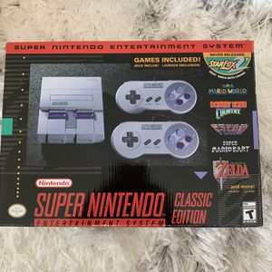 Super Nintendo classic edition for Sale in Westminster, CA