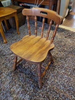 Kids wooden chair for Sale in Marietta, GA