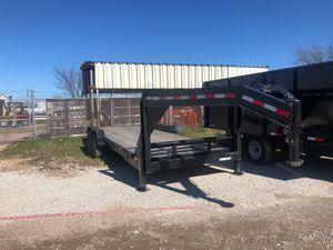 83x24 gooseneck trailer 7 k axles on SALE for Sale in DeSoto, TX