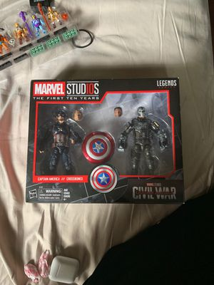 Marvel legends captain America civil war first ten years for Sale in Richmond, CA