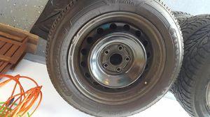 Firestone tires and rims - 215/55R16 for Sale in Caledonia, MI