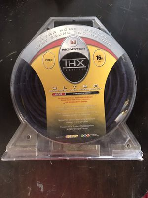 Monster Ultra THX 800, 16ft Component Video Cable for Sale in Levittown, NY
