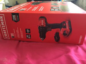 (BRAND NEW STILL IN BOX)Craftsman v20 20-volt Max 1/2-in Lithium Cordless Drill for Sale in NEW CARROLLTN, MD