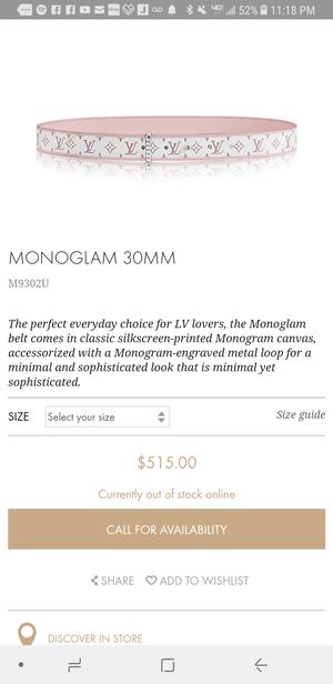 Louis Vuitton Monoglam m9302u for Sale in Chicago, IL