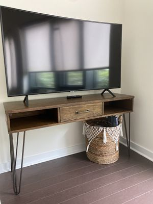 Wooden TV Stand/Desk For Sale for Sale in Arlington, VA