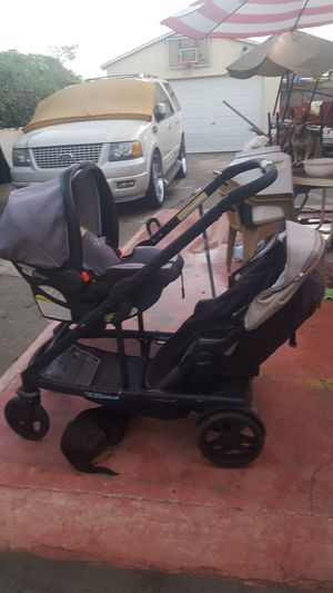 Grado Uno2Duo Double Stroller for Sale in Los Angeles, CA