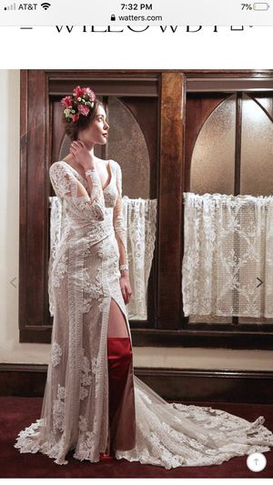 Never worn wedding dress for Sale in Boca Raton, FL