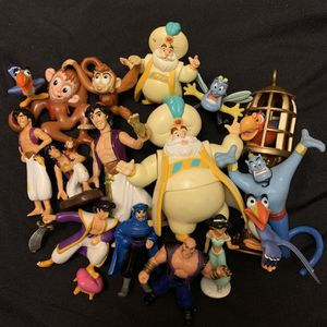 Aladdin collectible pvc figurines for Sale in West Covina, CA