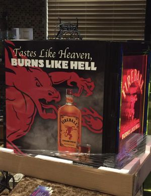 New Fireball Whiskey Cooler Mini Fridge for Sale in Shoreline, WA