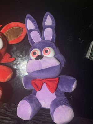 five nights at freddys plushies for Sale in Anaheim, CA
