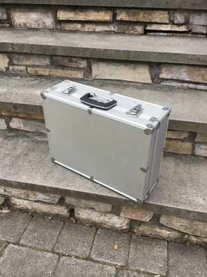 Aluminum lockable Case with keys for Sale in Concord, MA