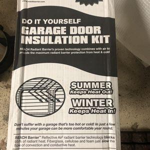 Garage Door Insulation Kit for Sale in Gainesville, VA