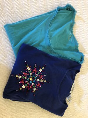 Two long sleeve Tops for Sale in Overland Park, KS