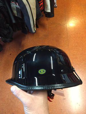 New German Low Profile dot Motorcycle half Helmet $80 for Sale in Whittier, CA