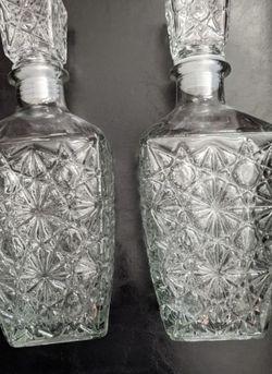 New Pair Of Liquor Decanter Barware 1 Liter FIRM for Sale in Las Vegas,  NV
