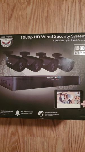 Night owl wired security cameras for Sale in Aurora, IL