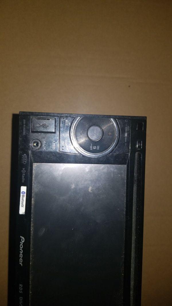 Pioneer double din car dvd avh-3400bh