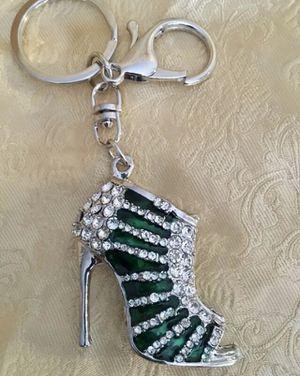 Emerald Green Purse Charm for Sale in Warren, MI