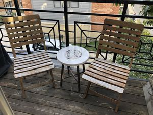 World Market Outdoor Furniture (3 pieces) for Sale in Chicago, IL