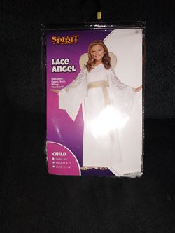 Child M (8-10) Lace Angel Halloween Costume For Sale OBO for Sale in Mount Hamilton,  CA