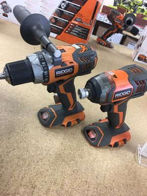 X4 RIDGID combo kit with lifetime warranty for Sale in San Diego, CA