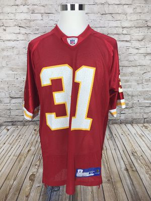Kansas City Chiefs Priest Holmes Reebok Men's Medium Jersey for Sale in Springfield, VA