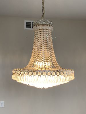 Gorgeous Chandelier - 20 inches wide for Sale in Villa Park, CA