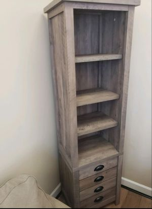 All must go | Brand New Accent Shelving Unit with Storage | $85, Buy 2 for $160 for Sale in Virginia Beach, VA