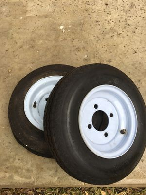 Utility trailer tires for Sale in Round Rock, TX