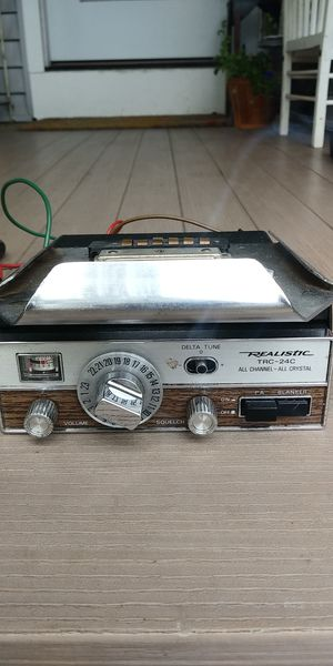 Used, Realistic  TRC - 24C CB Radio for Sale