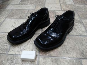 Men's Black Leather Dress Shoes for Sale in Butte, MT