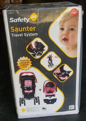Safety 1st saunter travel system stroller for Sale in Union City, CA