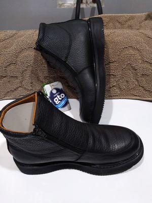 100% Leather Work Boots-Bota 100% de Piel for Sale in Orange, CA