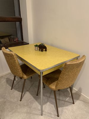 Mid Century Kitchen Table and Chairs for Sale in Austin, TX