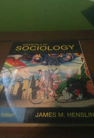 General Education Sociology College Textbook for Sale in Sanger, CA