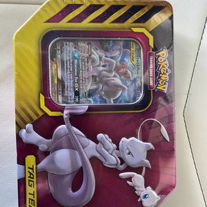 "Pokémon Tin ""mewtwo And Mew"" Tag Team Brand New Only 1 Left!!!! for Sale in Hanford, CA"