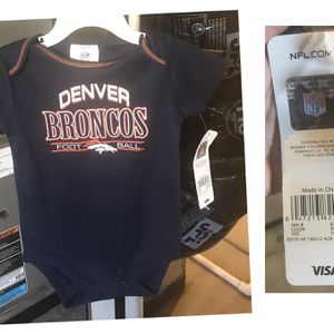 New 18 Months Broncos Onesie for Sale in Commerce City, CO
