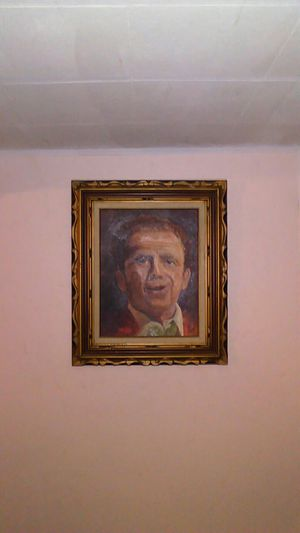 A portrait of Little Jimmy Dickens painted by my mother for Sale in Suffield, CT