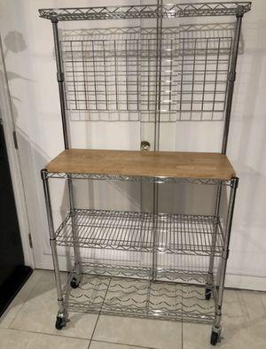 Kitchen bakers rack for Sale in Zephyrhills, FL