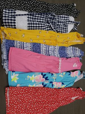 Girl clothes size 5, 6 and 7 (B) for Sale in Miami, FL