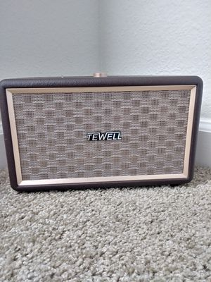 Tewell Bluetooth Speaker 150 watts SuperLoud for Sale in Morrisville, NC